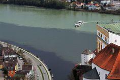 16 lugares fantásticos onde as águas dos rios se encontram mas não se misturam