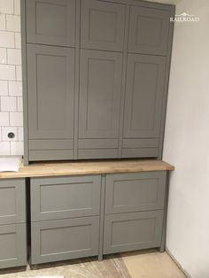 FarmHouse kitchen update – IKEA hack – RailRoad Home Bar Interior Design, Interior Design Sketches, Kitchen Hacks, Kitchen Decor, Spice Storage, Updated Kitchen, Interior Design Living Room, Kitchen Cabinets, House Design