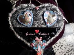 SAC/POCHETTE Grosse Caresse sac d'Amourgeorgous by laveuvejoyeuse, €180.00