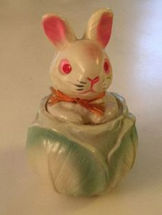 Vintage-Easter-Celluloid-Pop-Up-Bunny-Squeeker-Toy