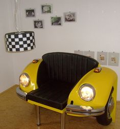 VW Käfer Sessel - #automöbel #Käfer #Sessel #Vw