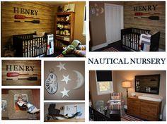 Boys Baby Room - Nautical Nursery