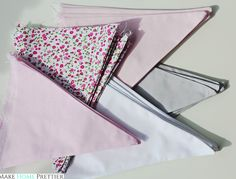 DIY: Girlanda-proporczyki - Make Home Prettier