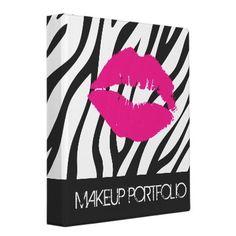 Makeup Artist Portfolio Binder by colourfuldesigns