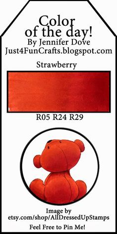 Copic Color Combinations: Reds