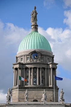 """""""Dome of Custom House"""" by ollygringo on Flickr - Dome of Custom House, an 18th century neoclassical dome in Dublin, Ireland"""