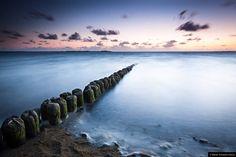 © Blende, Konstantin Articus, Lanung im Sonnenuntergang am Strand von Utersum auf Föhr