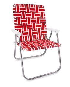 Lawn Chair USA Orange and White Stripe Folding Aluminum Webbing Classic Chair Picnic Chairs, Lawn Chairs, Camping Chairs, Beach Chairs, Outdoor Chairs, Backyard Chairs, Patio, Outdoor Seating, Outdoor Spaces