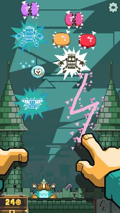 Magic Touch: Wizard for Hire nitrome 제작 손이 빨라야 제대로 즐길수 있는 게임 제스처 게임