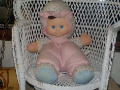 Vintage Cloth Cuddle Doll Baby : S by Daysgonebytreasures on Etsy