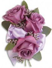 Soft Lavender Corsage #corsages #prom