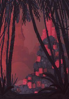 Some amazing pixel art by waneella Pixel Art Gif, Pixel Art Games, Pixel Pixel, Game Design, Arte 8 Bits, Pixel Art Background, Arte Hip Hop, 8 Bit Art, Pixel Animation