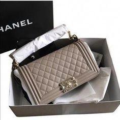 a645431af059 CHANEL Handbags - Chanel Boy Bag Medium Nude w Light Gold Hardware for sale  on Poshmark
