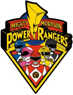 Mighty Morphin Power Rangers Logo Car Magnet by Animewild Power Ranger Party, Power Ranger Cupcakes, Power Ranger Cake, Power Ranger Birthday, Power Rangers Cartoon, Power Rangers Logo, Pawer Rangers, Go Go Power Rangers, Mighty Morphin Power Rangers