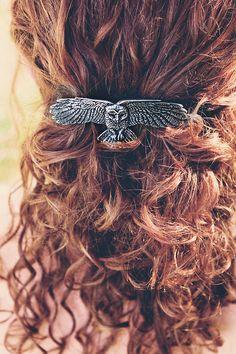 Hair Clip | Owl