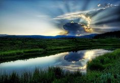 The Atomic Mushroom cloud...photo from #treyratcliff at http://www.StuckInCustoms.com - all images Creative Commons Noncommercial
