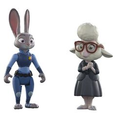 Disney Zootopia Character Pack  - Judy Hopps and May Bellwether $9.99  #