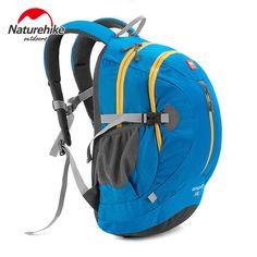 Naturehike Unisex Waterproof Nylon 30L Ultralight Portable computer Bag Outdoor sports mountaineering Backpack Climbing Bag