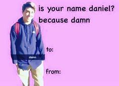 Funny Valentines Cards – Funny Valentines - presents for boyfriend Valentines Day Card Memes, Bad Valentines, Valentine Cards, Pick Up Lines Cheesy, Pick Up Lines Funny, Love Memes, Funny Memes, Dankest Memes, Pickup Lines