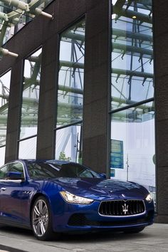 Maserati Ghibli, this is going to look good in my garage! blue would be perfect