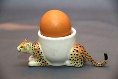 Coquetier en forme de léopard in Maison, Cuisine, arts de la table, Arts de la table | eBay