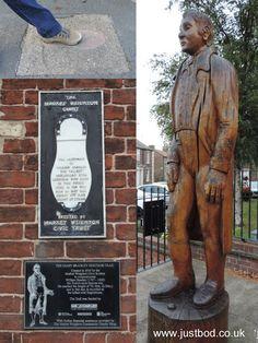 Britain's Tallest Recorded Man – William Bradley, Market Weighton, East Yorkshire …. Kingston Upon Hull, East Yorkshire, Britain, England, Marketing, English, British, United Kingdom