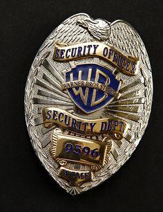 Looney Tunes: Back in Action Warner Bros. Studios Security Guard Badge
