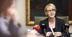 Puhemies Maria Lohela PS:n kuntavaaliehdokkaaksi Turussa