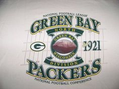 MEN'S GREEN BAY PACKERS VINTAGE STYLE T-SHIRT SIZE LARGE http://clektr.com/xqw