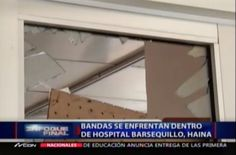 Bandas Se Enfrentan A Tiros Dentro De Un Hospital En Haina #Video