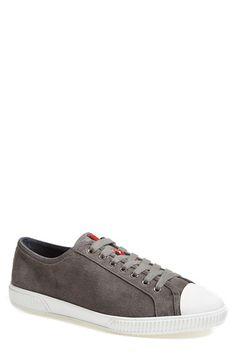 Men's Prada Suede Sneaker