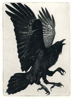 The Three Legged Raven by Larry Vienneau Jr.