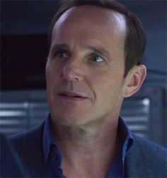Coulson and THE blue shirt.
