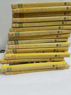 The Golden Book Encyclopedia Set 1-16 Copyright 1959 | Books, Antiquarian & Collectible | eBay!