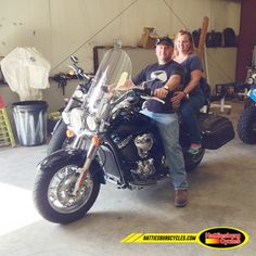 Thanks to Ryan and Melissa Atkinson from Pearl MS for getting a 2009 Kawasaki Vulcan 1700 Classic LT. @HattiesburgCycles