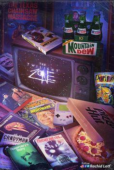 Culture Pop, Geek Culture, Horror Vintage, Geeks, Madara Susanoo, Cultura Nerd, Movie Collage, Mundo Dos Games, Jurassic