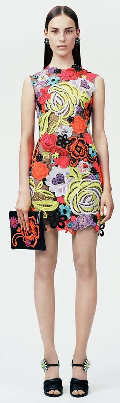 Christopher Kane | Resort 2015 ~ Colette @}-,-;---