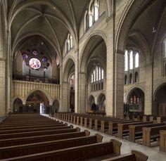 Interieur Sint Bavo Kathedraal, Haarlem