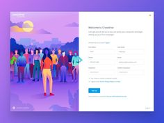 40 Interesting Examples For Web Form Design 2018 – Bashooka Form Design Web, Login Page Design, Design Food, Web Design Studio, Web Design Agency, Landing Page Design, Web Design Company, App Design, Layout Design
