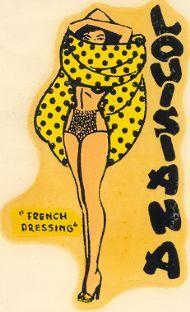 vintage Louisiana travel sticker it! Vintage Words, Vintage Images, Vintage Labels, Vintage Posters, Louisiana Bayou, New Orleans Mardi Gras, Animal Projects, Nebraska, Oklahoma