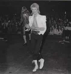 David Bowie — zigg-y:   omg look at this cutie
