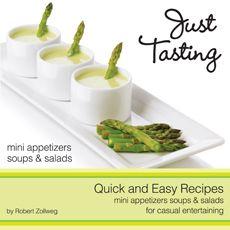 Just Tasting Recipe book - full of mini food ideas