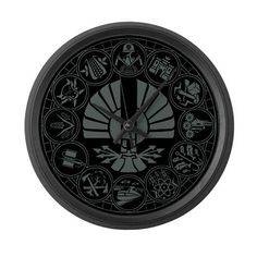 Of all the Hunger Games merchandise I've seen, I think I want this clock the most!
