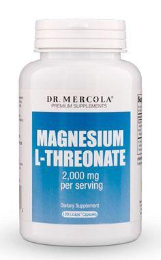 Mercola Magnesíum L-Threonate 90 hylki