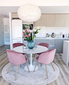 Home Interior Dark .Home Interior Dark Home Decor Kitchen, Kitchen Interior, Kitchen Ideas, Kitchen Table Decor Everyday, Small Kitchen With Table, Small Dinner Table, White Round Dining Table, Small Apartment Kitchen, Glass Dining Table