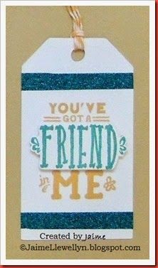 CTMH May SOTM---love this tag--can use for scrapbooking or a card
