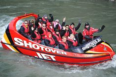 Craziest jet boat ride in the world in Queenstown.  They sure love their adventure  excursions out there!  Daredevils I tell ya!