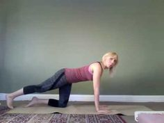 Gentle Postnatal Yoga Routine for Getting Your Strength Back After Birth - YouTube