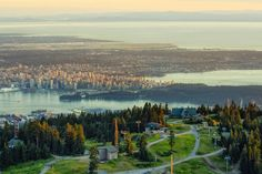 Summertime view from Grouse Mountain