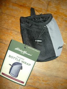 Eddie Bauer Padded Bottle Wrap New Free Shipping Camping Jogging Accesory | eBay